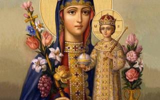 Молитва к иконе неувядаемый