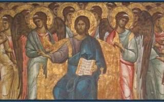 Молитва для причастия после крещения