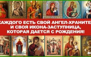 У каждого человека есть свой ангел хранитель молитва