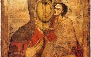 Молитва иконе старорусская