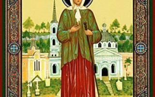 Молитва к ксении петербургской о защите