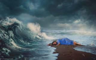 К чему снится волнующееся море. Сонник: море спокойное, бушующее, с дельфинами и рыбами